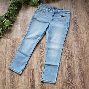 J Jill Denim Authentic Fit Slim Ankle Blue Jeans